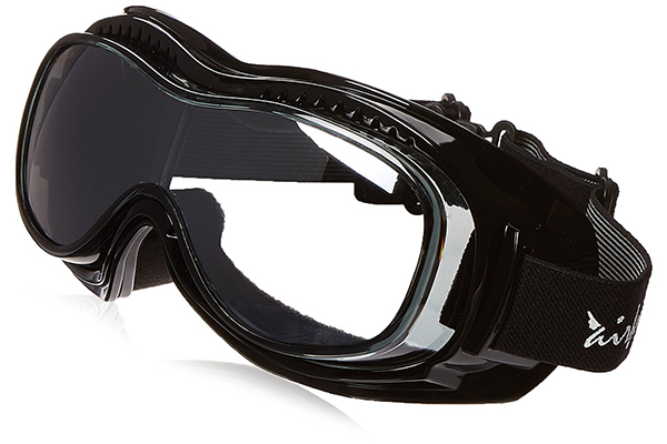 4108c80824 Pacific Coast Airfoil Padded  Fit Over Glasses  Riding Goggles